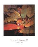 Tropical Leaves II Art Print