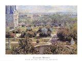 View of Tuileries Gardens Art Print