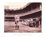 Babe Bows Out, c.1948 Art Print