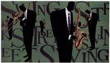 Swing Street Horns Art Print