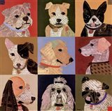 Nine Loves Art Print