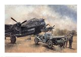 A Lancaster and a Bentley Art Print