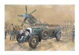 Bentley and Spitfire Art Print