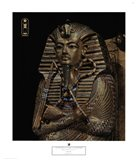 Golden Effigy of King Tutankhamen Art Print