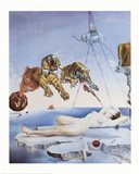 Dream Caused by the Flight of a Bee Around a Pomegranate, A Second Before Awakening, c.1944 Art Print