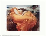 Flaming June, c.1895 Art Print
