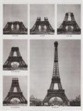 Eiffel Tower Construction Art Print