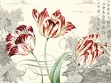 Imperial Tulips Art Print