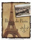 Bistro De Paris Art Print