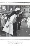 Kissing the War Goodbye Art Print