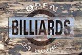 Billiards II Art Print