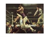 Dempsey and Firpo, 1923 Art Print