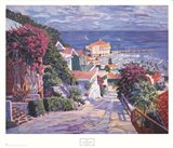 The Road to the Harbor Art Print