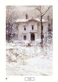 Victorian Winter, 1987 Art Print