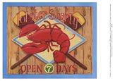 Lobster Shanty Art Print