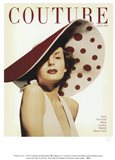 Couture July 1950 Art Print