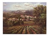 Vino Bianco Art Print