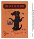Black Dog Spa Products Art Print