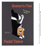 Boston's Fine Facial Tissues Art Print