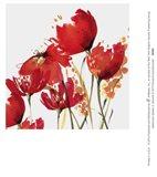 Watercolor Garden 3 Art Print