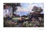 A New England Garden Art Print
