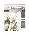 Victorian Porch Art Print