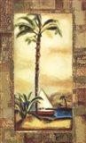 Tropical Gold I Art Print