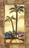 Tropical Gold II Art Print