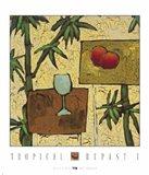 Tropical Repast I Art Print