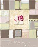 Floral Tapestry I Art Print