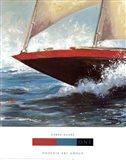 Yacht Club One Art Print