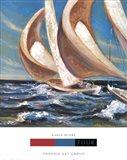 Yacht Club Four Art Print