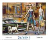 Girlfriends II Art Print