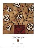 Red Vase One Art Print