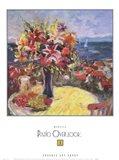 Patio Overlook 1 Art Print