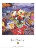 Patio Overlook 2 Art Print