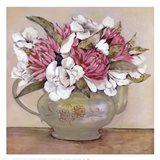 Floral Teapot II Art Print