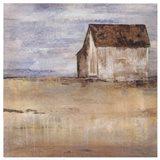 Barn & Field I Art Print