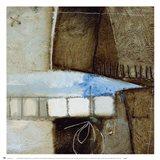 Blue Elements II Art Print