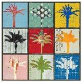 Palm Variations I Art Print