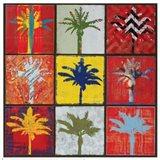 Palm Variations II Art Print
