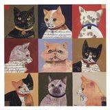 Nine Lives Art Print