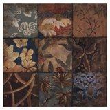 Floral Mosaic IV Art Print