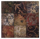 Floral Mosaic V Art Print