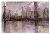 Skyline Bridge II Art Print