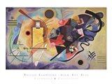 Gelb, Rot, Blau, c.1925 Art Print