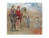 Saltimbanques Art Print
