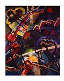 Composition Storm Art Print