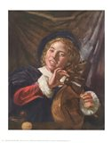Boy with a Lute Art Print