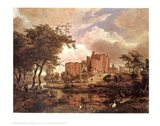 Ruins of Brederode Castle Art Print